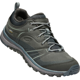 Keen Terradora Leather WP Naiset kengät , harmaa/petrooli